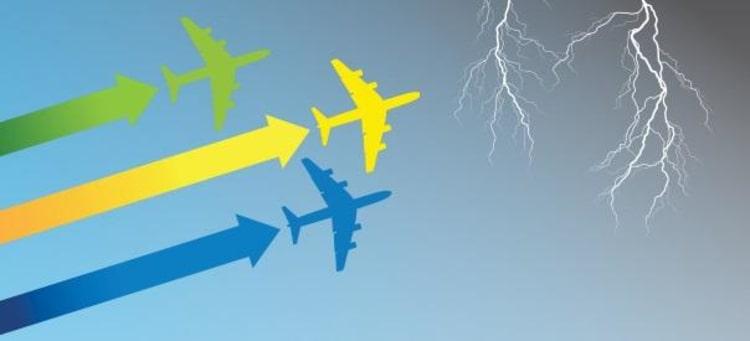 Hitting turbulence