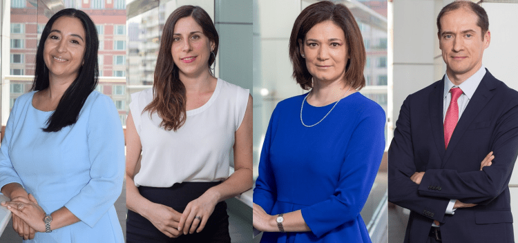 Alessandri hires four of counsel