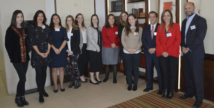 Carey hosts latest event in female mentoring programme