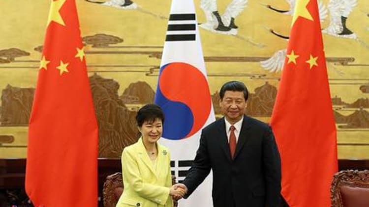 China-Korea trade agreement causes stir over alleged antitrust provisions