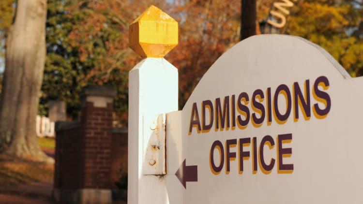 DOJ probes college admission ethics guide