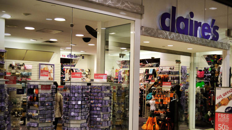 Claire's private equity bidder faces adversary claim from fellow creditors