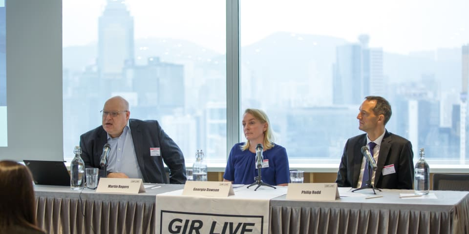 GIR Live Hong Kong: more transparency required in regulator fines