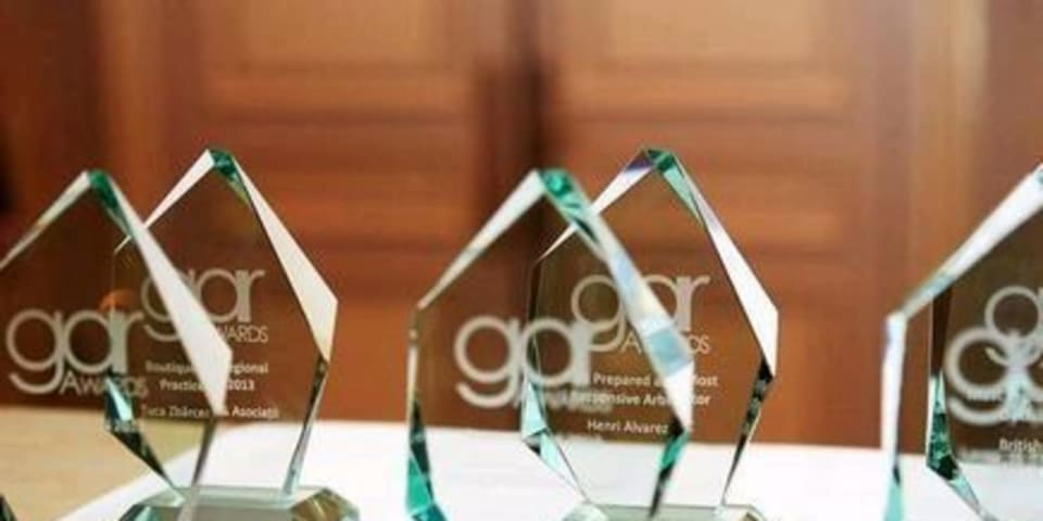 GAR Awards 2017 – best innovation by an individual or organisation