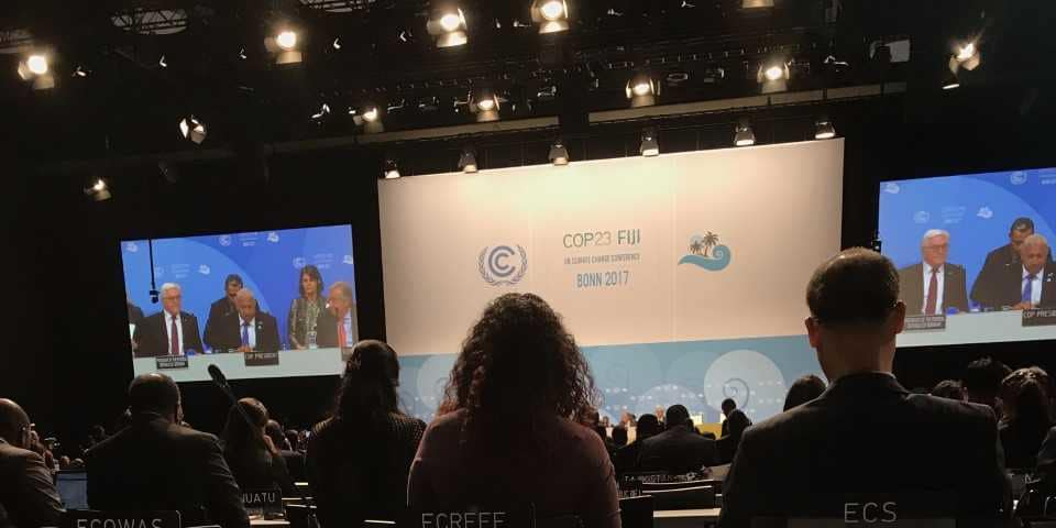 "COP23 delegates hear about a ""rising tide"" of environmental cases"