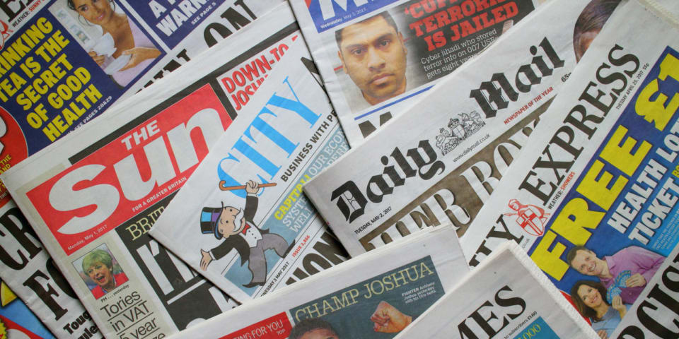 UK newspaper deal cleared after government intervention