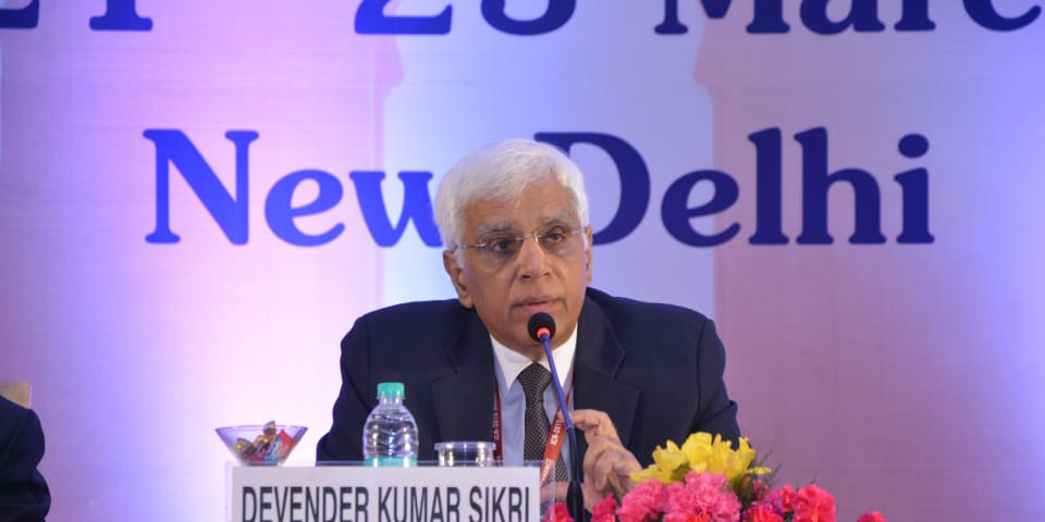 An interview with Devender Kumar Sikri