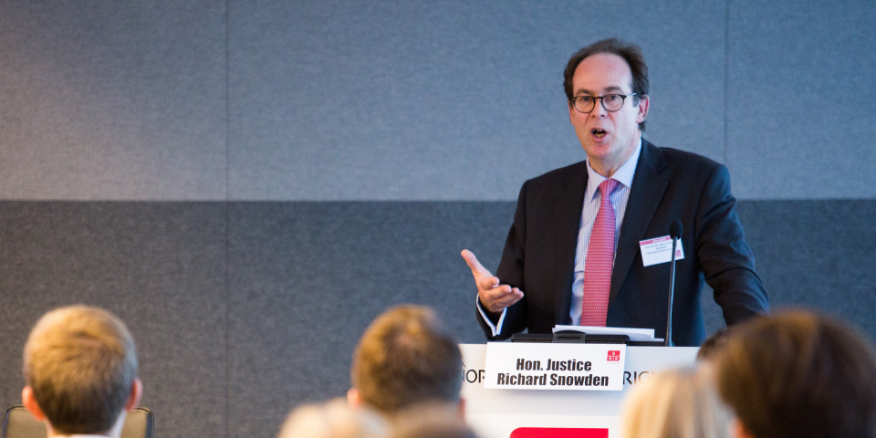 Mr Justice Snowden considers jurisdictional challenges ahead