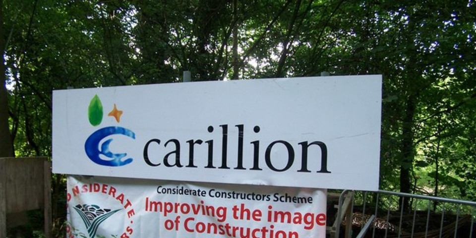 Slaughter and May acting for Carillion in £1.5bn liquidation