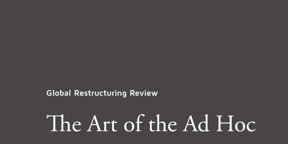 GRR presents: The Art of the Ad Hoc
