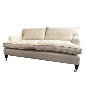 Made-to-Measure-Linen-Fabric-Two-Seat-Sofa---London-Cushion-Company.