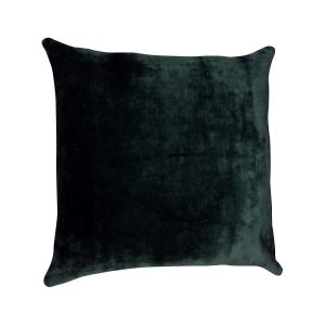 Faux Leather Bird Cushion 50 x 50cm - London Cushion Company-1
