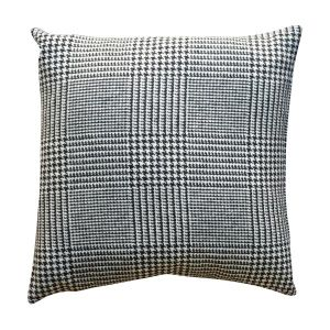 Houndstooth Scatter Cushion - London Cushion Company Ltd