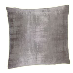 Grey Satin Cushion Cover - Add Feather or Polyester Inner Pads