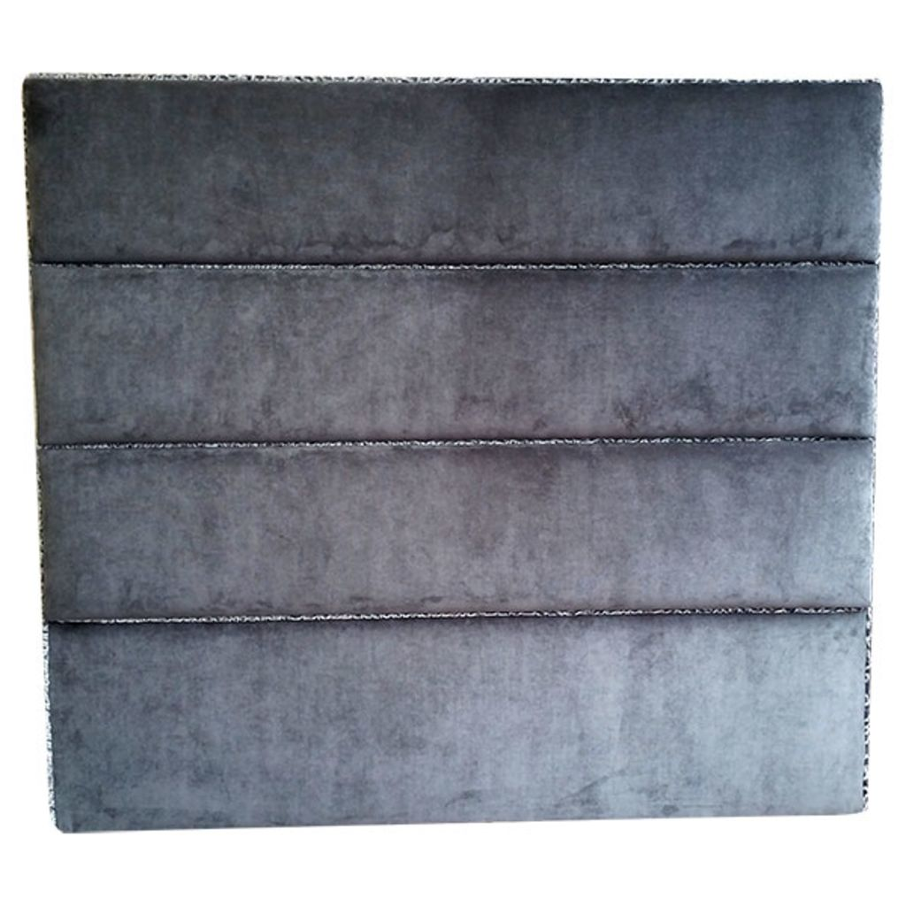 Small Double Upholstered Velvet Headboard - London Cushion Company