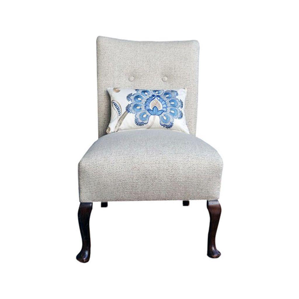 Freshly Reupholstered Chair - London Cushion Company Ltd