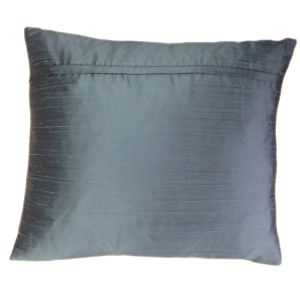 Turquoise Silk Cushion - Perfect Accompaniment For Your Soft Furnishings-1