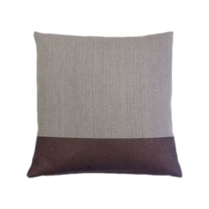 Chestnut Cushion - Handcrafted in Battersea by London Cushion Company