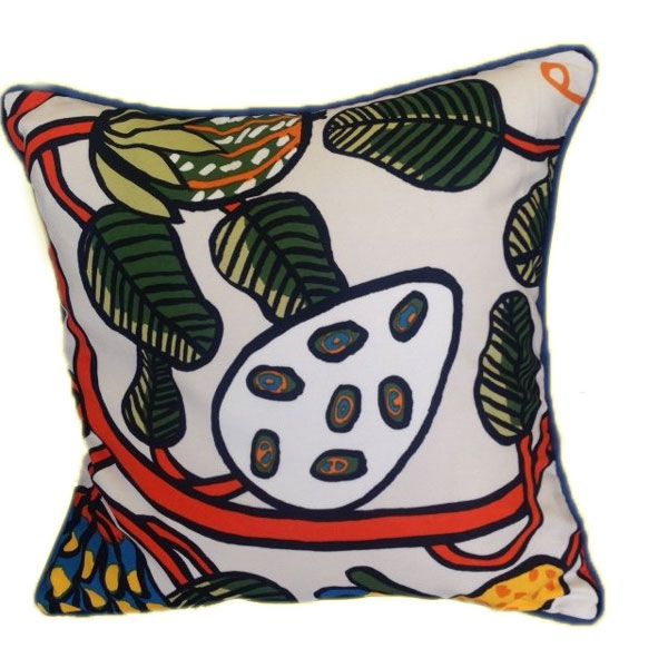 Hand Painted Cushion - Unique Addition to Any Room Of Your House.