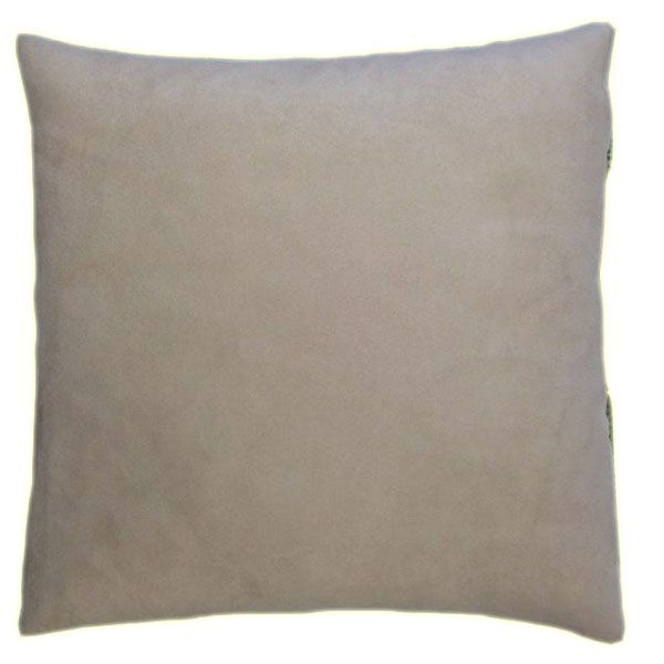 Rustic Cushion - a Classic Green Textured Fabric Match With a Soft Beige-1