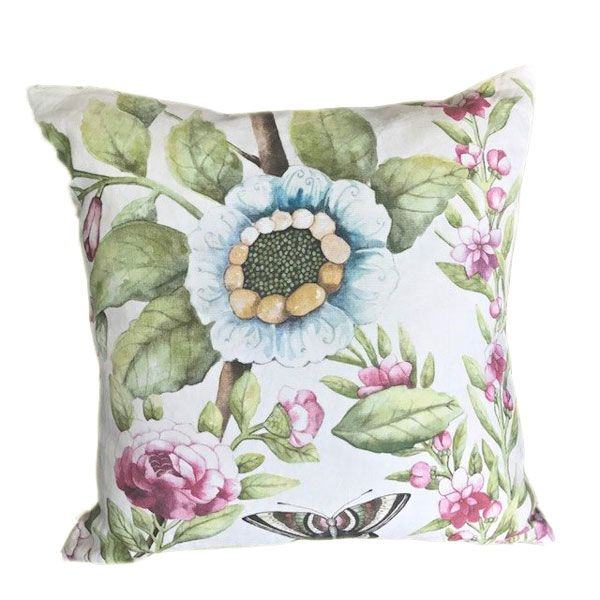 Shabby Chic Cushion Feather Pad Filling London Cushion Company