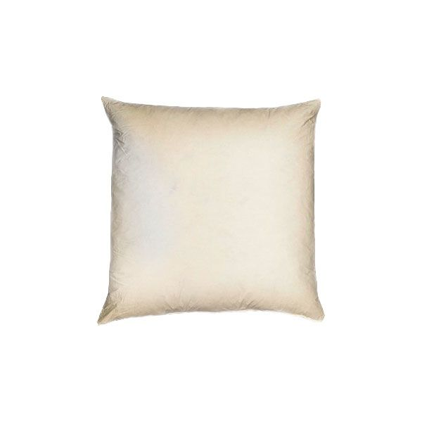 Square Cushion Pad - Filled with 100% Duck Feather or Polyester-1