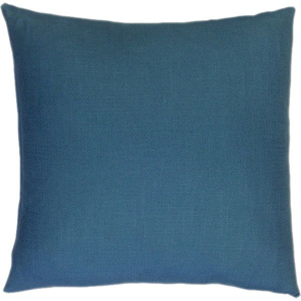 Zig Zag Handcrafted Cushion - Deep Sky Blue Colour at the Back-2