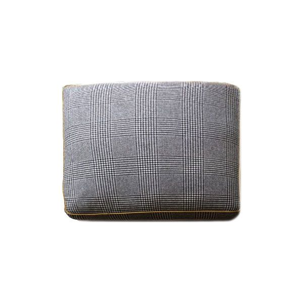 Box Cushion - Handmade in the UK from Pure Wool with a Cotton Inner