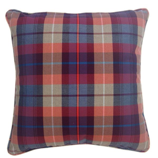Tartan Cushion - add Splash of Colours and Comfort in you Room