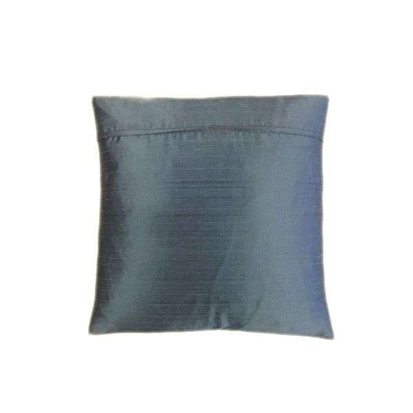 Turquoise Silk Cushion - Perfect Accompaniment For Your Soft Furnishings-3