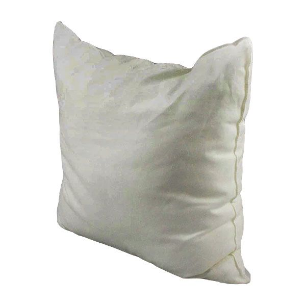 Square Cushion Pad - Filled with 100% Duck Feather or Polyester