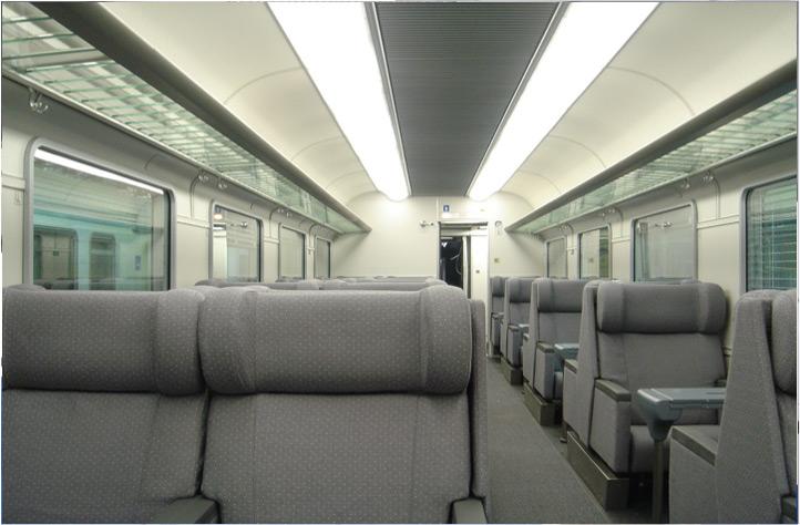 Trenitalia: Gran Confort Coaches