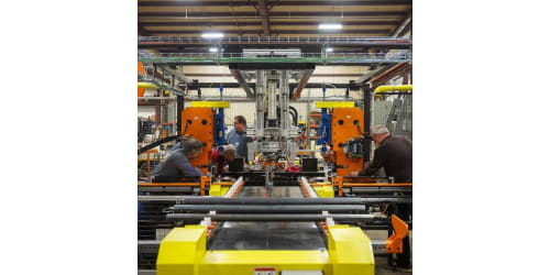 Lippert Components Designs Builds and Implements New Precision Axle Cambering Machine to Improve Product Quality
