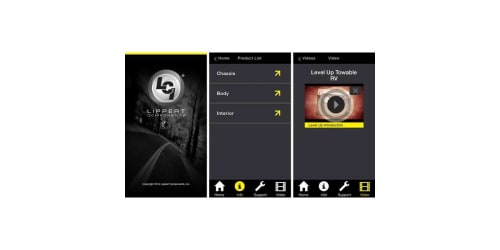 Lippert Components Launches Mylci Product Information Application for Iphone Ipad and Ipod Touch