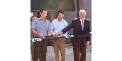 Governor Pence to Participate in Ribbon Cutting Ceremony at New Corporate Headquarters for Drew Industries on October 2