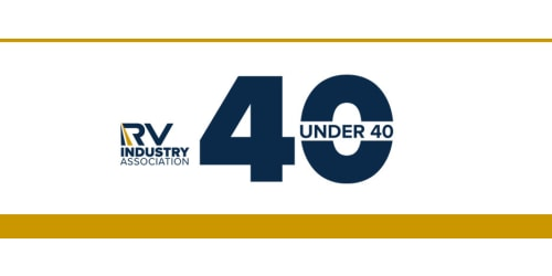 """Rvia Honors Two From Lippert Components as """"40 Under 40"""" Award Winners"""