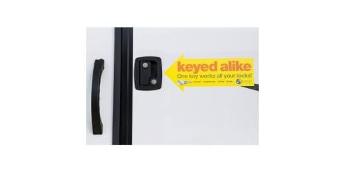 Lippert Components Introduces Keyed Alike Lock System for Rv Entry Ramp and Baggage Doors