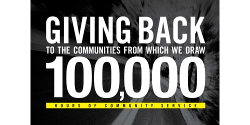 Lippert Components Introduces 100000 Hours of Community Service Initiative