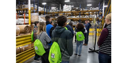 Lippert Components Hosts Students for Manufacturing Day 2019
