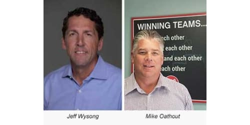 Lippert Components Promotes Jeff Wysong and Mike Oathout to Senior Leadership Positions Within Emerging Marine Market
