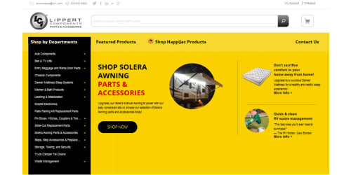 Lippert Components Launches New Responsive Online Rv Parts and Accessories Store