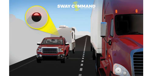 Lippert Components Debuts Sway Command Tow Control Technology on Jayco Travel Trailer Rvs at Rvia Louisville National Trade Show