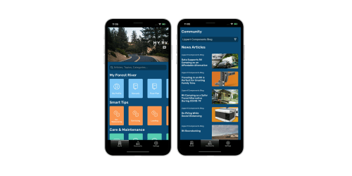 Now Available the Werv App Powered by Lcis Onecontrol Technology
