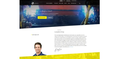 Lippert Components Launches New Responsive Website With More Rv Dealer Resources and Revamped Customer Service Center