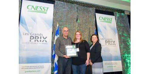 Lippert Components Canada Named 2016 Regional Winner of Cnesst Safety Award