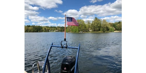 Lippert Introduces Taylor Made® KW Series Flagpole Mount