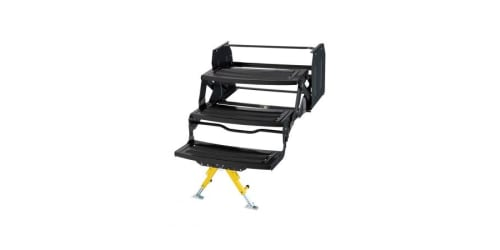 Lippert Premieres Solid Stance™ Step Stabilizer Kit to the RV Aftermarket