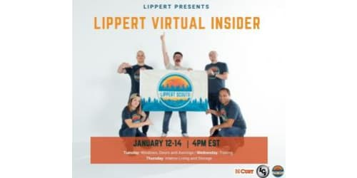 Lippert to Host Three-Day Virtual Insider Event Live on Facebook