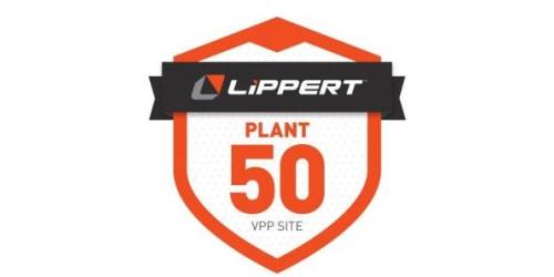 Lippert's Plant 50 Earns VPP Merit Certification