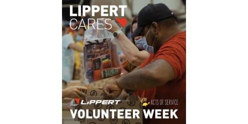 Lippert's Second Annual Volunteer Week a Great Success